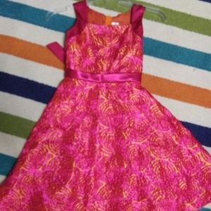 2 FOR $20 SIZE 8 RARE EDITIONS GIRLS PINK DRESS